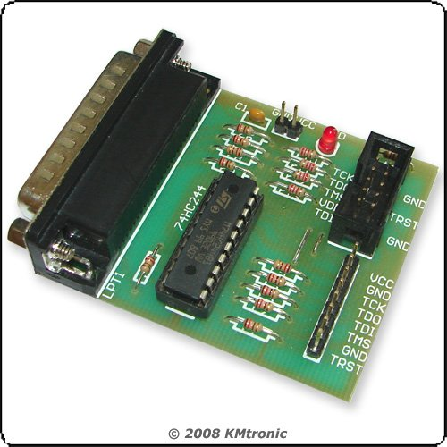 JTAG buffered Programmer for repair satellite receivers