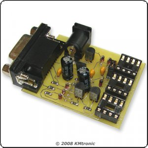 24Cxx, 93Cxx and 25xxx Serial Eeprom programmer E-EPROM
