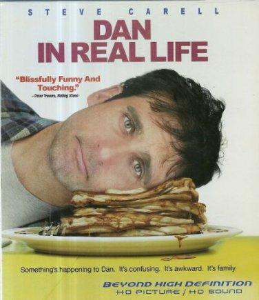 Dan in Real Life (Blu-ray Disc, 2008) NEW Free Shipping