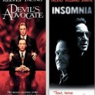 Devils Advocate/Insomnia (DVD, 2008) Double Feature NEW Free Shipping