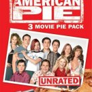 American Pie: 3 Movie Pie Pack (DVD, 2005, 3-Disc Set, Unrated/Widescreen) NEW Free Shipping