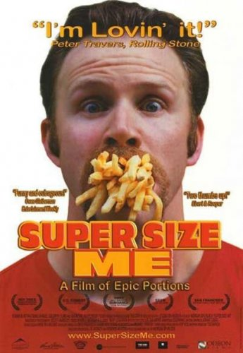 Super Size Me (DVD, 2004) NEW Free Shipping