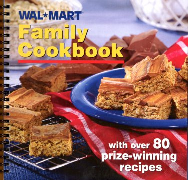 WAL*MART Family Cookbook (2002,Softcover) NEW Free Shipping