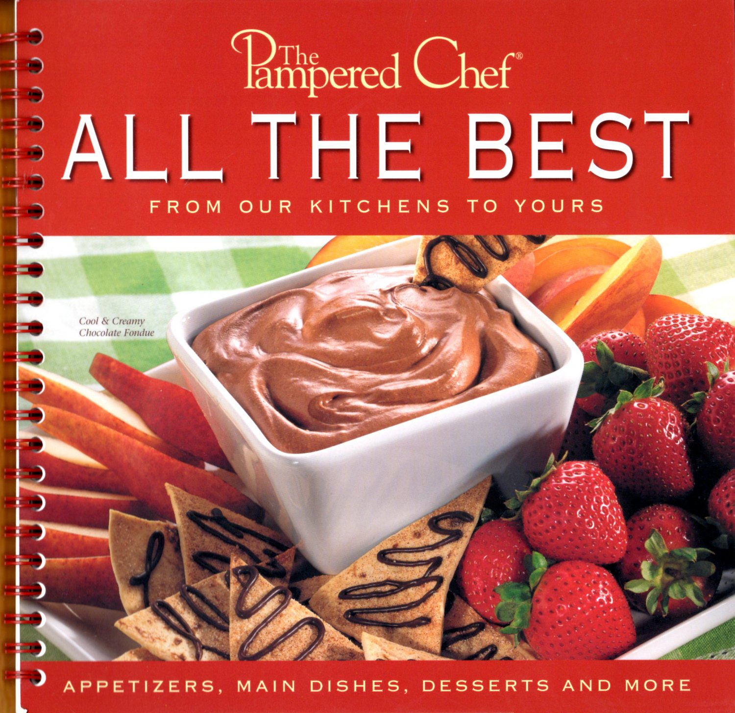 The Pampered Chef ALL THE BEST From Our Kitchen To Yours