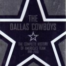 NFL Dallas Cowboys Team History (DVD, 2003, 2-Disc Set) NEW Free Shipping