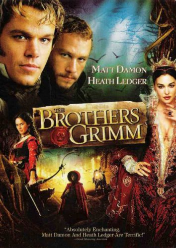 The Brothers Grimm (DVD, 2005) NEW Free Shipping