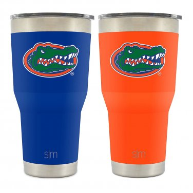 Two Simple Modern 30 oz. Tumbler - Flordia (2 pack) NEW Free Shipping