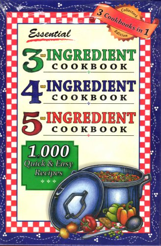 Essential 3-4-5 Ingredient Cookbook (2005, Hardcover) n ew fREE sHIPPING