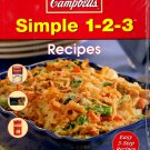Simple 1-2-3 Campbell's (2007, Paperback)  NEW Free Shipping