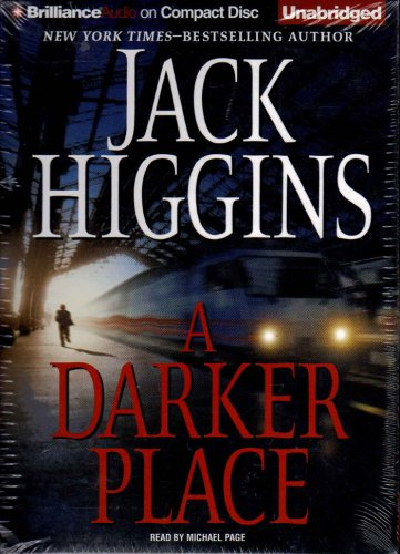 Sean Dillon: A Darker Place 16 by Jack Higgins (2009, CD, Unabridged) NEW Free Shipping