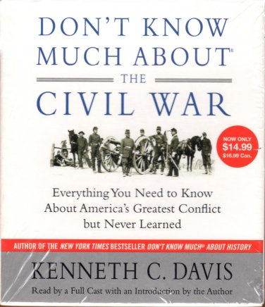 Don't Know Much about the Civil War NEW Free Shipping