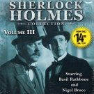 The New Adventures of Sherlock Holmes Vol 3 by Denis Green & Anthony Boucher (2011, CD, Abridged)