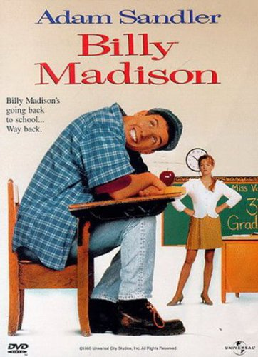 Billy Madison (DVD, 1998, Widescreen) NEW Free Shipping