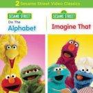 Sesame Street: Do the Alphabet/Imagine That (DVD, 2013) NEW Free Shipping