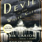 The Devil in the White City :by Erik Larson (2005, CD, Abridged)  LIKE NEW Free Shipping