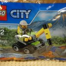 LEGO City 30350 Volcano Jackhammer with Explorer Minifig NEW Free Shipping