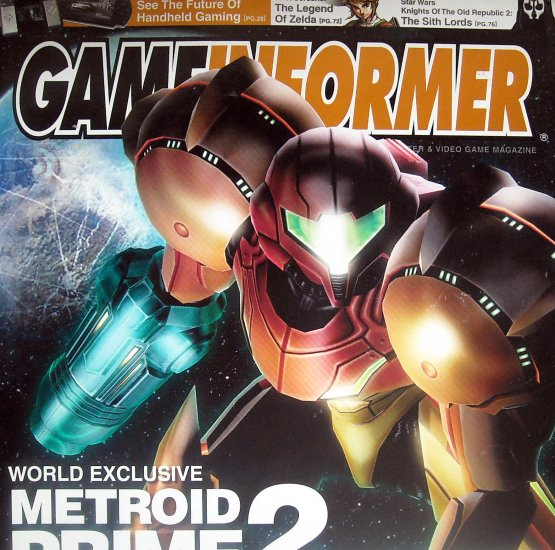 GameInformer Metroid Prime 2 Cover