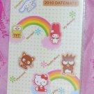 2010 SANRIO Hello Kitty Keroppi My Melody Datemate Planner NEW
