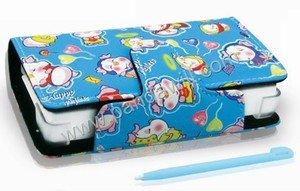 BlackHorns DS Lite Cartoon Waterproof Case Blue Piggi