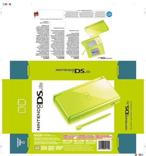 Nintendo Ds Lite apple green  (refurbished)