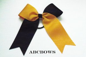 Large Flip Cheer Bow - You choose color