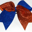 Texas Size  Cheer bow - Flip Glitter