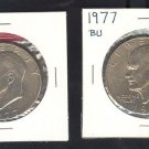1977 and 77-D IKE $1.00 MS63