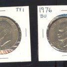 1976 and 76-D IKE $1.00 MS63