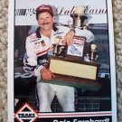 1992  DALE Earnhardt TRAKS Racing Card