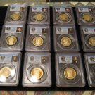 ( 12 ) $1.00 PROOF  Presidential Coin set   PCGS 69 PROOF