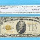 ~~~ 1928 ~~~ $10.00 ~~~~ GOLD Certificate VF-20