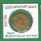 USS Newport News ,  SSN 750