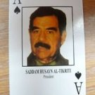 Desert Storm ~~ 50 Most wanted ~~ Playing cards