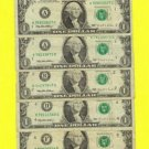 Series 1995 SET ~~ WEB press ~~ $1.00 Experimental notes