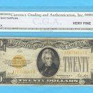 ~~~ 1928 ~~~ $20.00 ~~~~ GOLD Certificate VF-20