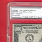 --- $500 --- FRN ~~ CGC graded VF ......... WOW..... LQQK
