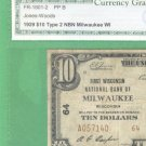 "1929 $10.00 Natonal "" MILWAUKEE, WI """