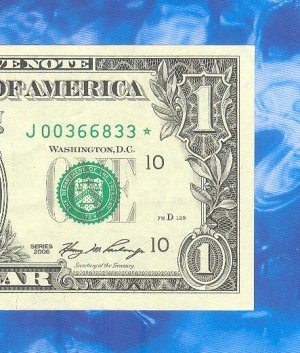 "Series 2006 "" J "" STAR $1.00 FRN  J00366833*"