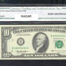~ RADAR ~ $10.00 == GEM 65 == CGA