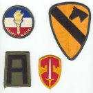 (4 ) Military Patches
