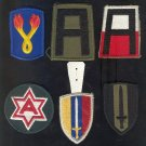 ( 6 ) Military Patches