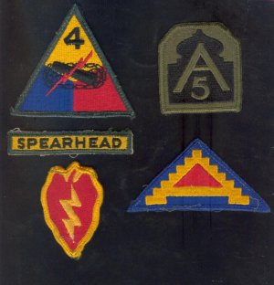 ( 5 ) Military Patches