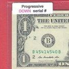 Progressive == DOWN == 4541 4540 == Serial #