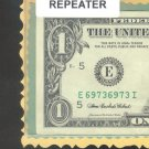 $1.00 FRN ~~ REPEATER ~~ E 6973 6973 I