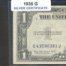 1935g = $1.00 = SILVER certificate