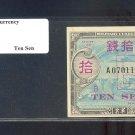 WWII  JAPAN  AMC 10 SEN