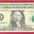 == 1988 == Scarce == I - A block =$1.00 FRN