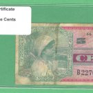 MPC  Series 661 ~~ .05 Cents ~~ B22703467B