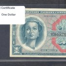 Series 611 ~~ $1.00 ~~~ Military Payment Certificate
