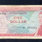 EAST CARIBBEAN  ==  ONE DOLLAR =  A1 386201